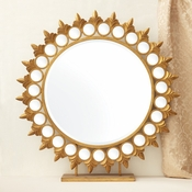 Tozai Home - Sun Mirror on Pedestal