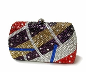 Collective Designs - Carli Swarovski Crystal Clutch � Multi