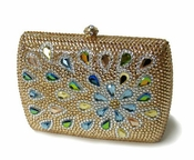Collective Designs - Jenna Swarovski Crystal Clutch