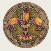 Edgar Berebi Mardi Gras Coaster - Special Offer Available