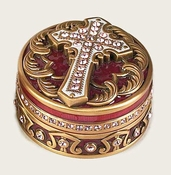 Edgar Berebi Cross Pill Box - Special Offer Available