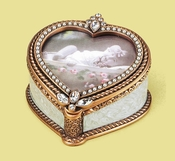 Edgar Berebi Serenade Heart Frame Box - Special Offer Available