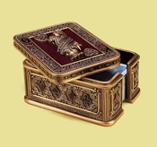 Edgar Berebi Queen Of Hearts Card Box - Special Offer Available