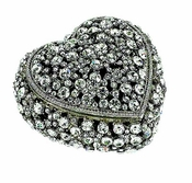 Olivia Riegel Swarovski Crystal Heart Box