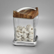 Nambe Twist Canister