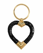 SOLD OUT Whiting & Davis Heart Key Ring