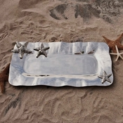 Beatriz Ball Ocean Starfish Long Tray Large - (Retired)