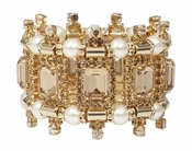 LK Jewelry Versaille Bracelet with Pearls - CLOSEOUT