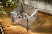J Devlin Art Glass Box Vintage