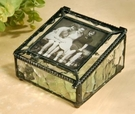 J Devlin Art Glass Photo Boxes