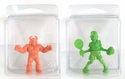 """Clear Plastic Clamshell <br>Storage Case- <br>2.56"""" x 2.44"""" x 1.25"""""""