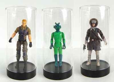 Acrylic Round Case / Loose Action Figure (Star Wars)