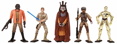 Earth Black Stands for Newer Star Wars figures and others