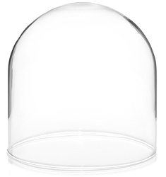 "Glass Dome with no Base - 4"" x 4"""