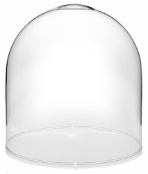 "Glass Dome with no Base - 9.75"" x 10"""