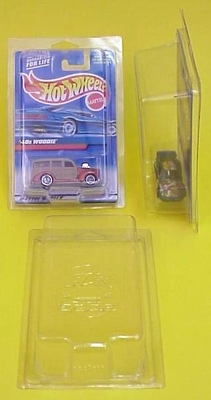 Soft Case / Hot Wheels Carded