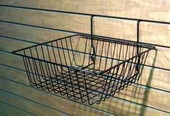 12in.W x 12in.D x 4in.H Small All-Purpose Wire Basket