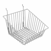 12in.W x 12in.D x 8in.H All-Purpose Sloped Front Basket