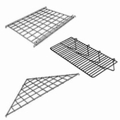 Standard Gridwall Wire Shelves