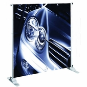 Adjustable Large Format Banner Stands