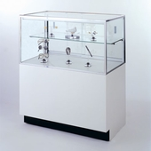 72in. Half Vision Jewelry Display Case