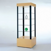 Square Open Tower Display Case