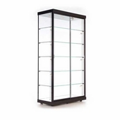 Quick Ship 40in. Rectangular Wall Display Case