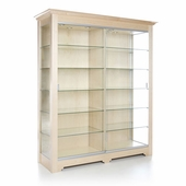 Rectangular 64.5in. Wide Wall Display Case