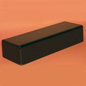 Acrylic Black Rectangular Bases
