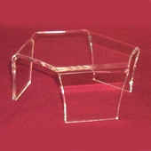 Acrylic Short Three-Legged Risers