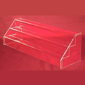Clear Acrylic Mini Three Step Stairs