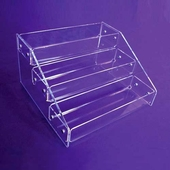 Acrylic 3 Tier, Tiered Display Trays
