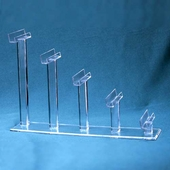 Acylic J-Shelf Frame Rests