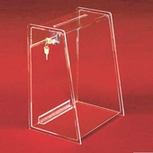 Acrylic Tall Ballot Boxes