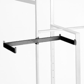 Twist-On Shelf Support