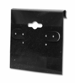 Black Velvet 2 in. Earring Card (Box of 100)