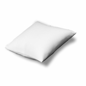 White Leatherette Display Pillow