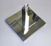 Metal Square Parsons Base (Box Qty.)