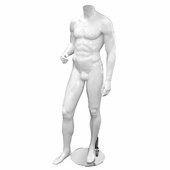 Male Headless Mannequin Style 3