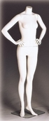 Headless Female Size 6 Mannequin w/ Hands on Hips