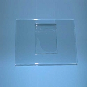 7in.H x 11in.W Horizontal Grid Plexi Sign Holders