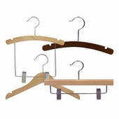 Kid / Junior Wood Hangers