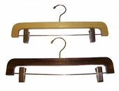 Wood Skirt Hanger, Pant Hanger 14in. (Box of 100)