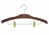 Wooden Combination Hanger (Box of 100)