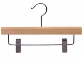 10 Inch Wood Pant / Skirt Hanger (Box of 100)