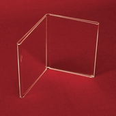 acrylic frames tabletop sign holders
