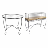 Aaron Contemporary Display Tables