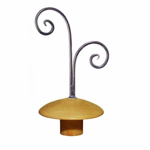 Aaron Contemporary Adult Neckblock with choice of Finial