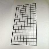 Large Raw Steel Wire Grid Panel