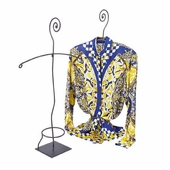 Aaron Contemporary Blouse Display with Scroll Top